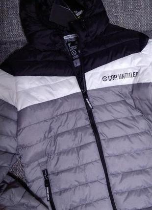 Утепленная весенняя куртка