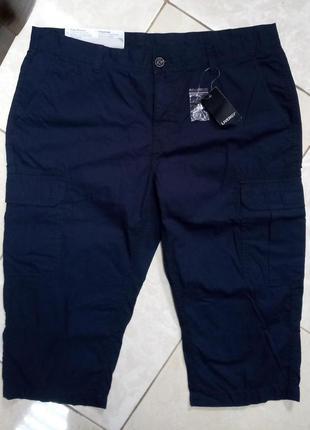 100% хлопок! длинные шорты бриджи карго 54 livergy германия