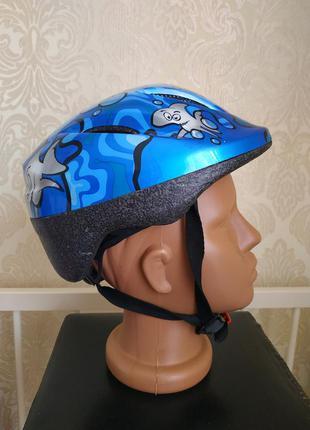 Защитный шлем abus детский велосипедный для роликов объем голо...