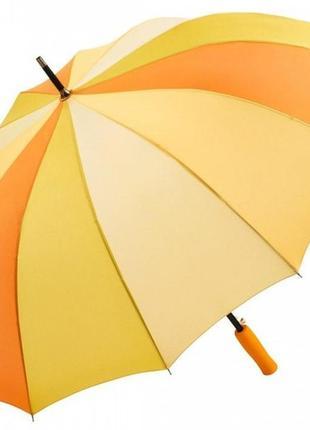 Зонт-трость fare 4584 полуавтомат желтый