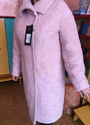 Новое зимнее женское пальто из натуральной итальянской шерсти