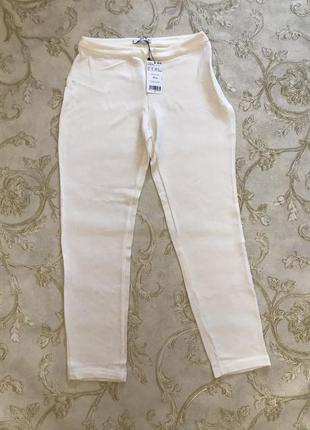 Белые брюки штаны mango m