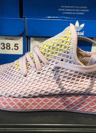 Женские кроссовки adidas deerupt runner  cg6084