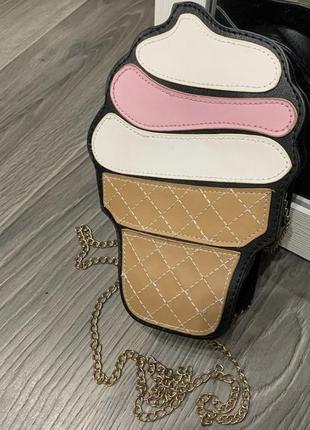 Объёмная сумка мороженное