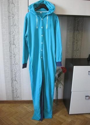Кигуруми домашний спортивный прогулочный костюм комбинезон нат...