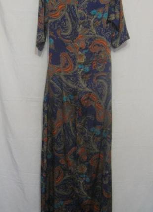 Платье женское  прямое,  длинное, цветное, очень красивое.40р