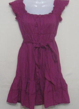 Платье сарафан женское летнее лёгкое короткое.38р. классное. б...