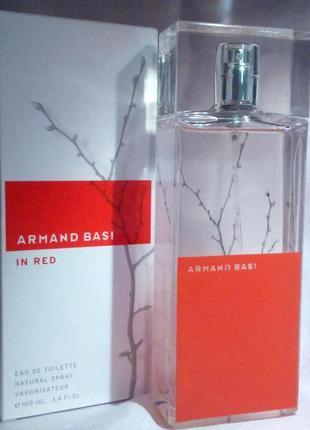 Armand Basi In Red Оригинал EDP  7 мл Затест_туал.вода