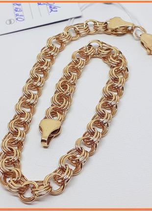 Золотой браслет. золото 585 пр