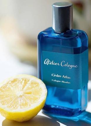 Atelier Cologne Cedre Atlas Оригинал Cologne  3 мл Затест