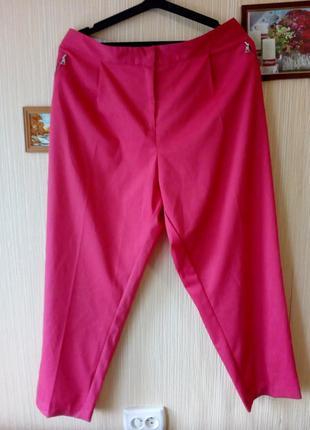 Очень легкие летние брюки большого размера, баталы