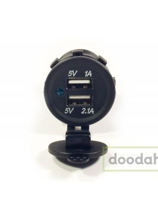 Авто / Мото USB зарядка Recessed PRO S