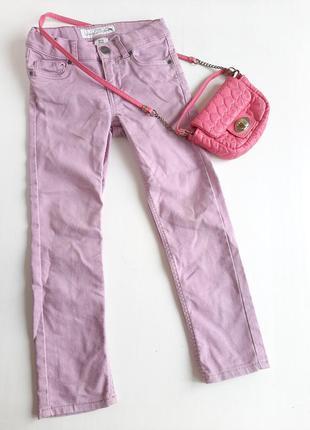 Джинсы на девочку 3-4 года штаны