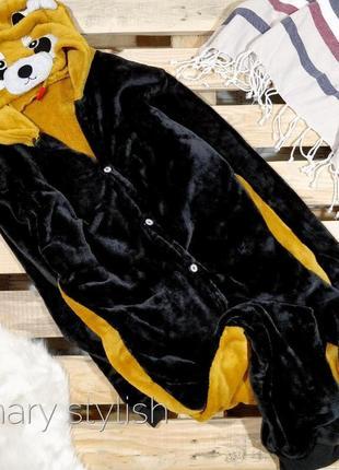 Слип человечек пижама мишка костюм для дома !