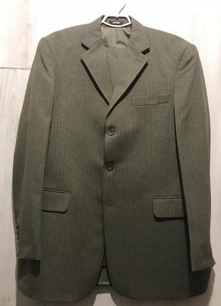 Мужской классический костюм senfoni цвета хаки 081 (54)