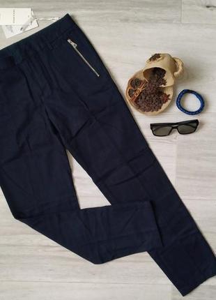 Мужские стильные брюки jack & jones штаны slim fit