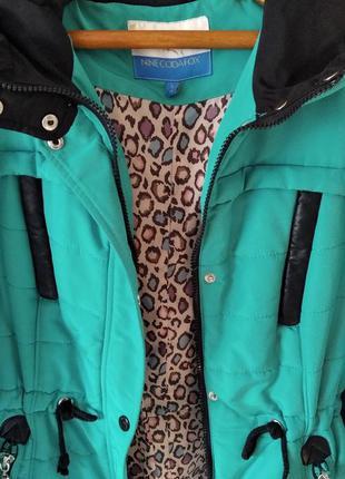 Демисезонная женская  куртка-парка