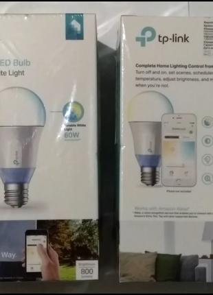 Светодиодная лампа LED TP-Link LED Smart Wi-Fi с регулировкой теп