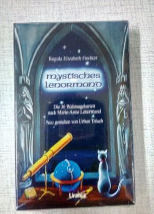 Таро Lenormand, синие мистические