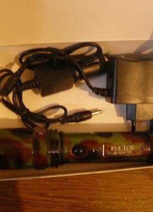 Продам мощный фонарь Police , аккамуляторный с зарядкой