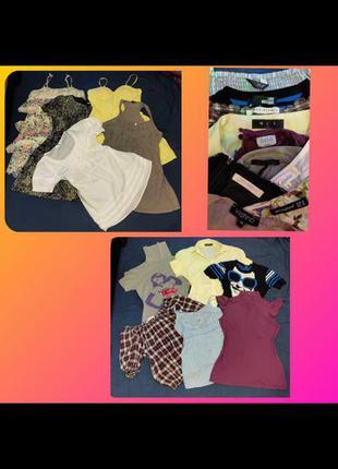 Комплект женская одежда вещи для девушки платье блузка рубашка