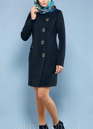 Женское демисезонное пальто стильное 46,48,50 кашемир