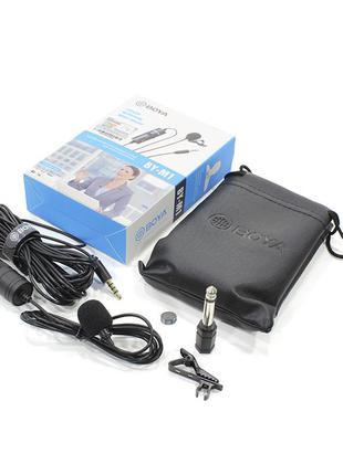 Микрофон петличный всенаправленный BOYA BY-M1 конденсаторный