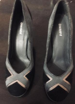 Симпатичные туфельки на каблучке 8,5см