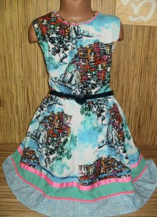 Стильное платье на 11 лет