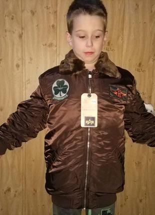 Куртка alpha industries maverick jacket y