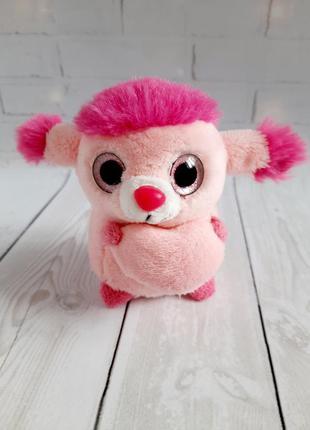 Мягкая игрушка глазастик лупоглазик 10 см пудель keel toys