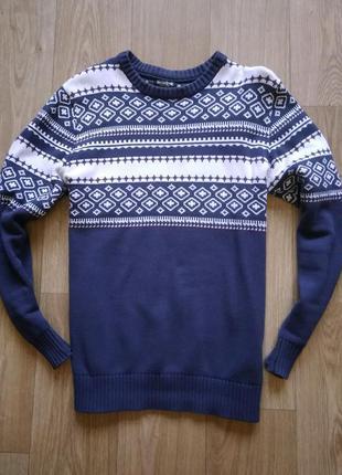 Винтажный свитер jack jones