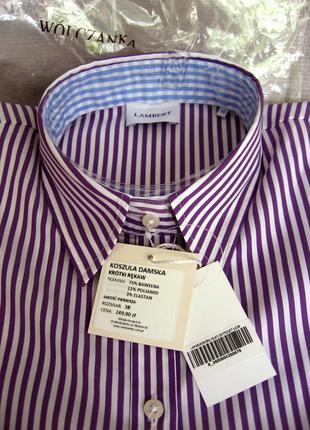Рубашка женская короткий рукав размер 48
