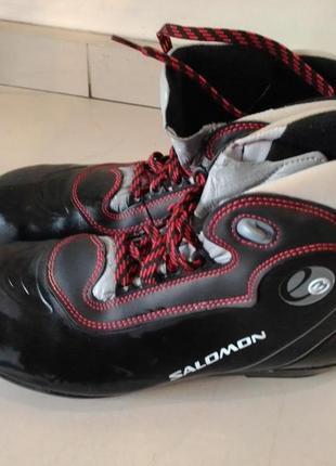 Ботинки лыжные беговые salomon