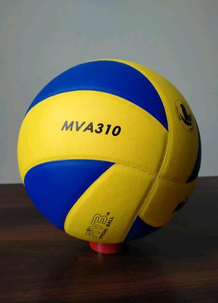 Мяч волейбольный клееный Mikasa MVA-310