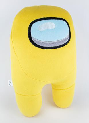 Мягкая игрушка Weber Toys космонавт Among Us 27см желтый