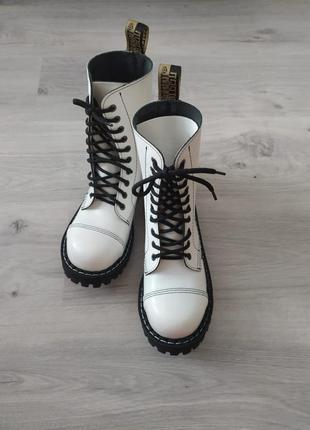 Берцы, стилы, ботинки кожа, стальной носок