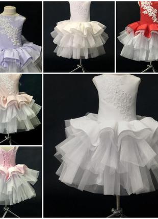 Нарядное бальное детское платье Бетти