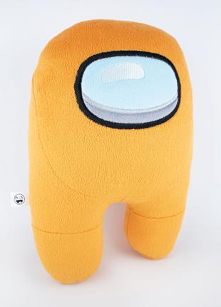 Мягкая игрушка Weber Toys космонавт Among Us 27см оранжевый