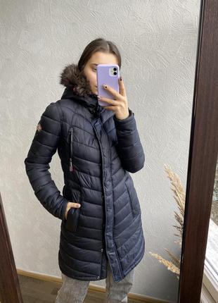 Тепла зимова куртка superdry