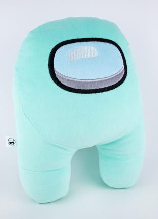 Мягкая игрушка Weber Toys космонавт Among Us 27см мятный