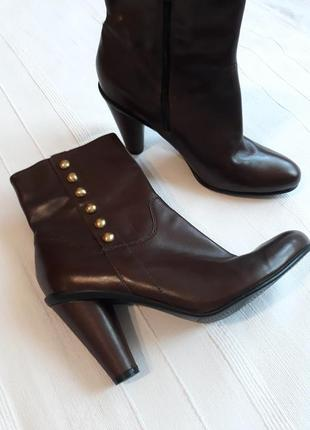 Ecco оригинал демисезонные кожаные#шкіряні ботинки#сапоги#полу...