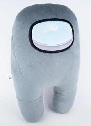 Мягкая игрушка Weber Toys космонавт Among Us 27см серый