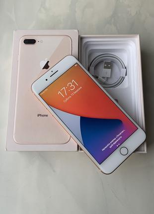 Apple Iphone 8 + Plus 64 gb Rose Gold (White)
