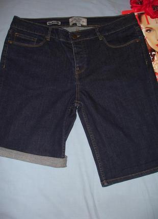 Шорты джинсовые женские размер 48/14 темные