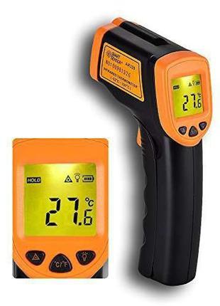 Инфракрасный термометр, градусник AR 360A пирометр с лазерным ...
