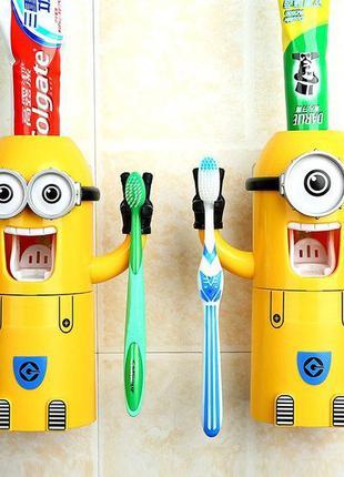 Автоматический дозатор для зубной пасты Миньон диспенсер