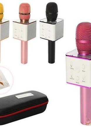 Беспроводной микрофон караоке Q7 MS USB
