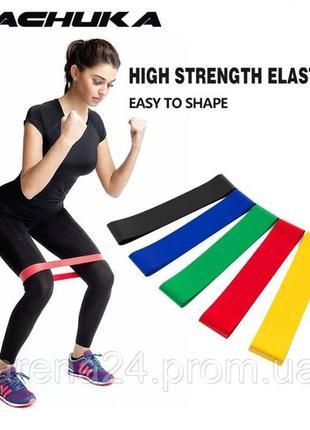 Набор резинок для фитнеса 5шт LT-005, набор эспандеров, фитнес...