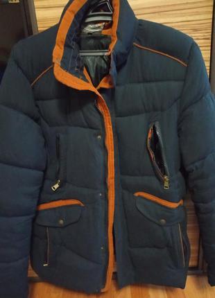 Зимняя куртка мужская 56 размер